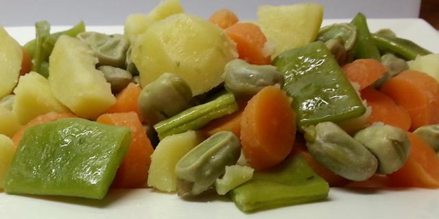 La menestra, un plato con productos de la huerta