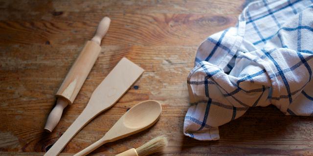 Los riesgos del trapo de cocina