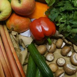 Froitas e verduras sempre seguras